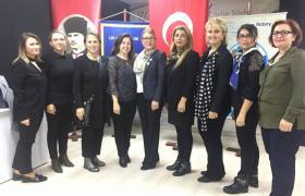 YTSO Kadın Girişimciler kurulu Rotary Kulübü nün düzenlemiş olduğu Atatürk'ü anma törenine katıldı.