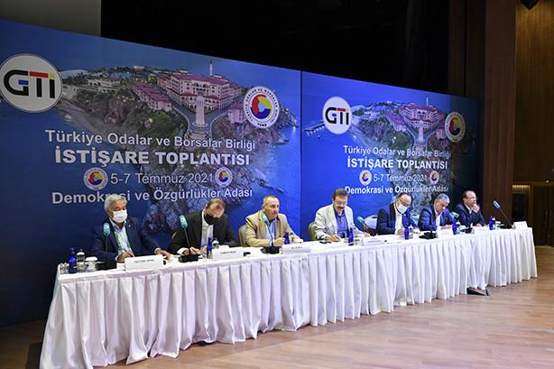 YTSO Başkanı Tahsin Becan Demokrasi ve Özgürlükler Adasında Gerçekleştirilen TOBB İstişare Kurulu Toplantısı'na katıldı