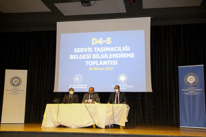 D4-S Servis Taşımacılığı Belgesi Bilgilendirme Toplantısı Gerçekleştirildi.