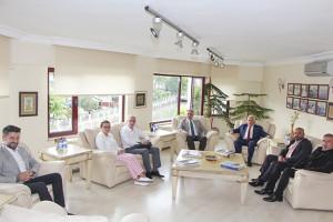 Termal Belediye Başkanı ve YATUB Başkanı H.Sinan Acar, YTSO'yu ziyaret etti.