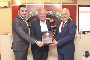 YTSO Meclis Toplantısı'na YTSO Yönetim Kurulu Eski Başkanı Yakup Bilgin Koçal katıldı.