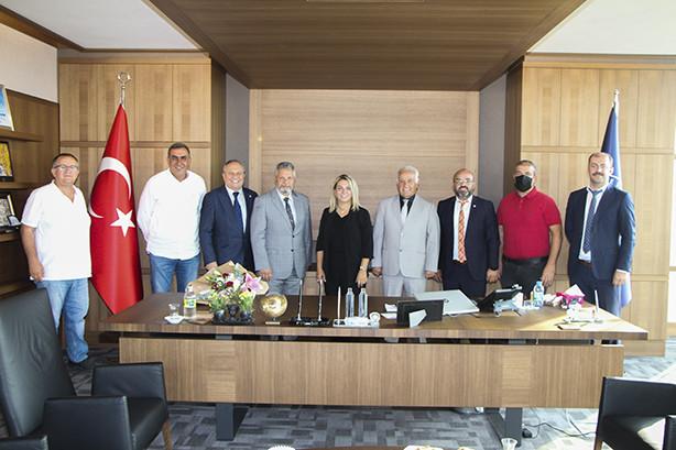 Yalova SGK İl Müdürü Mehmet Salih Aydın odamızı ziyaret etti.