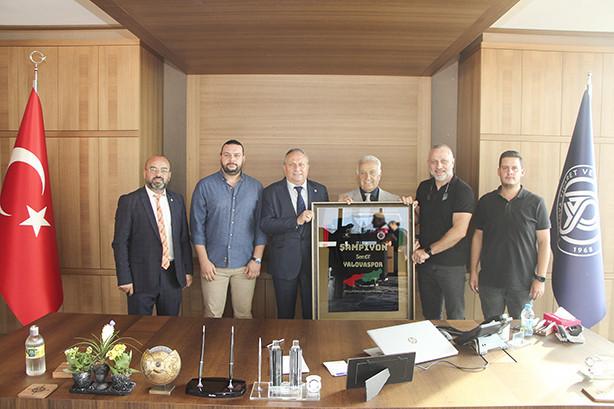 Semt77 Yalovaspor Basketbol Yöneticileri odamızı ziyaret  etti