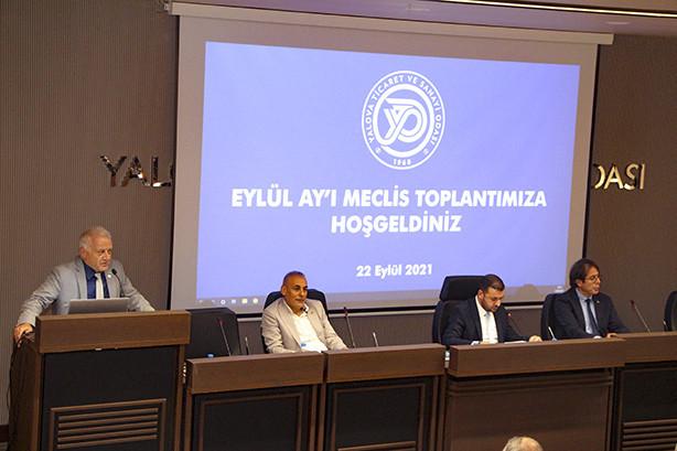 Odamız Eylül Ay'ı Meclis Toplantısı gerçekleştirildi.