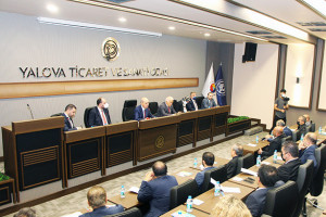 AK Parti Genel Başkanvekili Numan Kurtulmuş Yalova Ticaret ve Sanayi Odasını Ziyaret Etti
