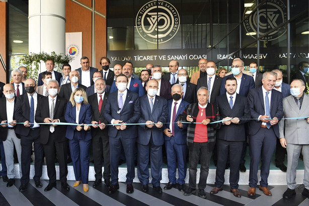 Yalova Ticaret ve Sanayi Odası Yeni Hizmet Binası Açılış Töreni