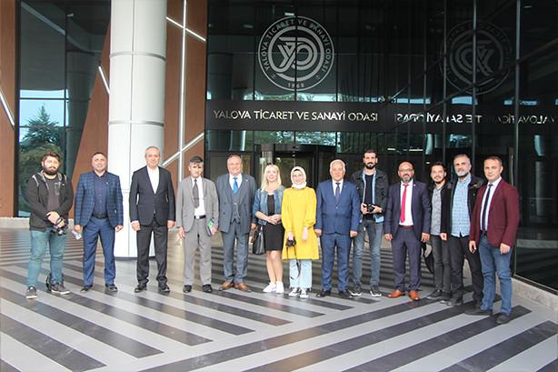 YTSO Başkanı Tahsin Becan ve Yönetim Kurulu Üyeleri Basın Mensuplarıyla Bir Araya Geldi