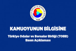 Union of Chambers and Commodity Exchanges of Turkey (TOBB) Press briefing