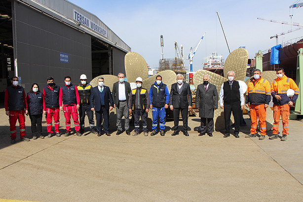 YTSO Visited Shipyards During Dynamic Inspection Process.