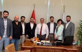 Termal Belediye Başkanı Sinan Acar'ahayırlı olsun ziyareti gerçekleştirdik.