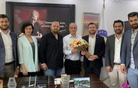 Koruköy Belediye Başkanı Kamil Yaman'ahayırlı olsun ziyareti gerçekleştirdik.