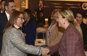 TOBB Kadın Girişimciler İcra Kurulu Başkanları Ankara'da toplandı