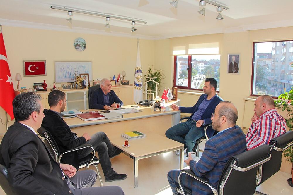 Tüm Sanayi ve İşadamları Derneği ( TÜMSİAD ) Yalova Şubesi YTSO'yu ziyaret etti.