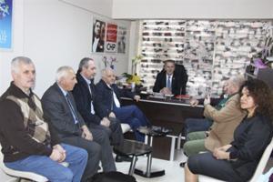 YTSO'dan Şener'e Hayırlı Olsun Ziyareti