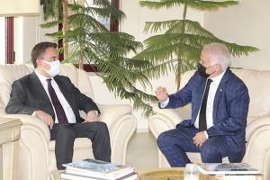 DEVA Partisi Genel Başkanı Ali Babacan, Odamıza ziyarette bulundu.