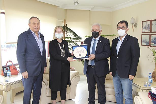 Hırvatistan Cumhuriyeti İstanbul Başkonsolosu YTSO'yu Ziyaret Etti