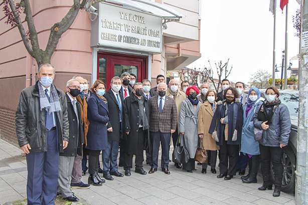 The Provincial Directorate of the İyi Parti visited our Chamber.