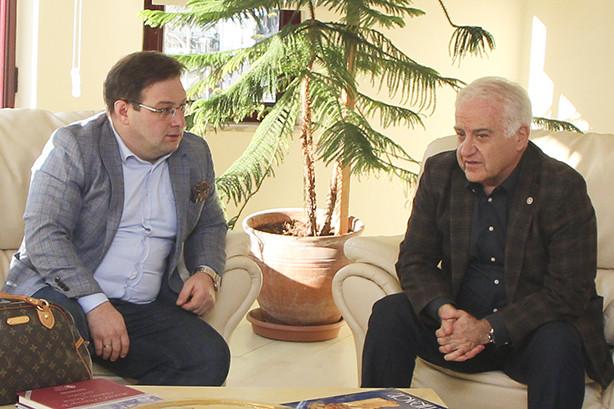 Yeşilay Yalova Şube Başkanı Ali Faik AYDIN, YTSO'yu ziyaret etti.