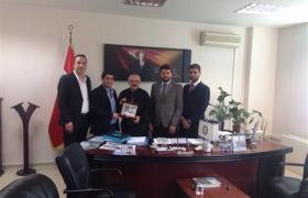 Genç Girişimciler Kurulu Yalova Belediye Başkanı ile İl Genel Meclis Başkanına ziyarette bulundular.