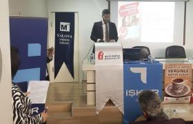 GGK üyesi Ensari Hallaç, genç girişimcilere tecrübe paylaşımında bulundu
