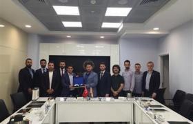GGK Üyeleri, Bursa Genç MÜSİAD Başkanı ve yönetimini ziyaret etti.