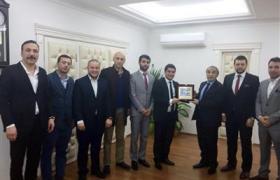 Yeni Seçilen YTSO Genç Girişimciler Kurulu Vali Selim Cebiroğlu'nu Ziyaret Etti