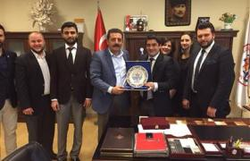 YTSO Genç Girişimciler Kurulu İlçe Belediye Başkanlarına Ziyarette Bulundu