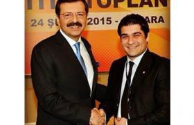 YTSO İl Genç Girişimciler Kurulu Başkanı Sercan Şık, TOBB Müşterek Toplantısına Katıldı.