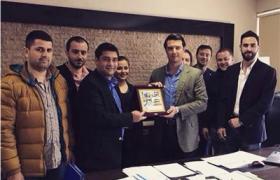 YTSO Genç Girişimciler Kurulu, Yalova Belediyesi Yeni İmar Müdürüne Hayırlı Olsun ziyaretinde bulundu.