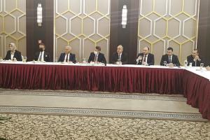 Ak Parti Genel Başkan Yardımcısı Nurettin Canikli ve Gençlik ve Spor Eski Bakanı Suat Kılıç ile istişare toplantısı gerçekleştirildi.
