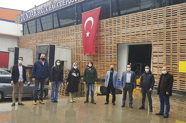 The members of Körfez Chamber of Commerce visited our city and visited the production areas in the name of commercial cooperation.