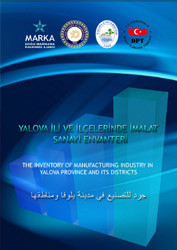 Manufacturing Industry Inventory in Yalova Province and Districts