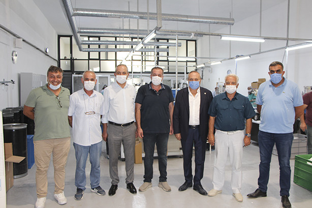 YTSO visited Cemask mask production facilities.